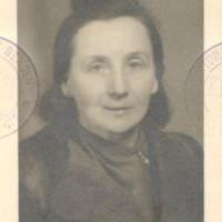 Maria Pilecka w młodości