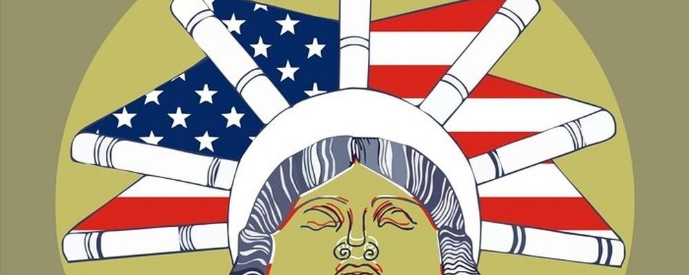 """Logo projektu """"Ameryka w twojej bibliotece"""""""