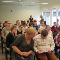 Uczestnicy zajęć terapeutycznych prowadzonych w Koszalińskiej Bibliotece Publicznej w roku szkolnym 2018/2019