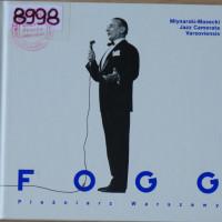 Okładka płyty CD z muzyką Młynarski-Masecki Jazz Camerata Varsoviensis, Fogg, pieśniarz Warszawy