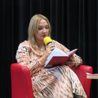 Alicja Balcerzak czyta wiersz Adeli Kuik-Kalinowskiej w języku polskim
