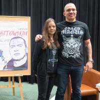 Indywidualne zdjęcie uczestnika spotkania z Łukaszem Orbitowskim