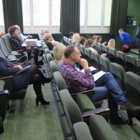 Uczestnicy szkolenia z obsługi systemu bibliotecznego MAK+