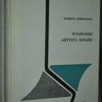 """Okładka książki """"Wyspiański - artysta książki"""""""
