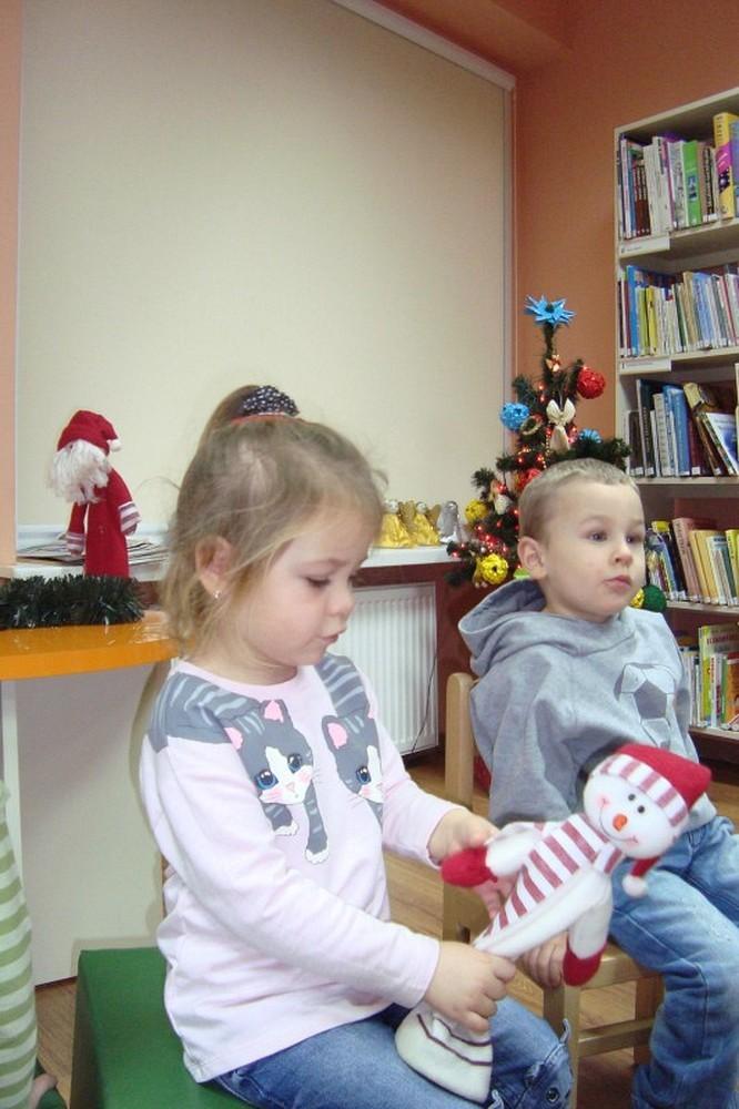 śniegowy Bałwanek I Bambino Koszalińska Biblioteka Publiczna